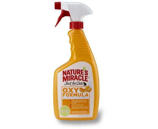 8in1 уничтожитель пятен и запахов от кошек NM Orange-Oxy с активным кислородом, спрей 710 мл, фото