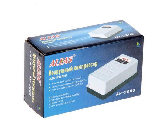ALEAS Компрессор белый, Выбор вариации: 96 л/ч, фото , изображение 2