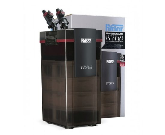 Hydor PROFESSIONAL FILTER 450 внешний фильтр 980 л/ч для аквариумов 300-450 л, - 1 -aquamagaz.ru