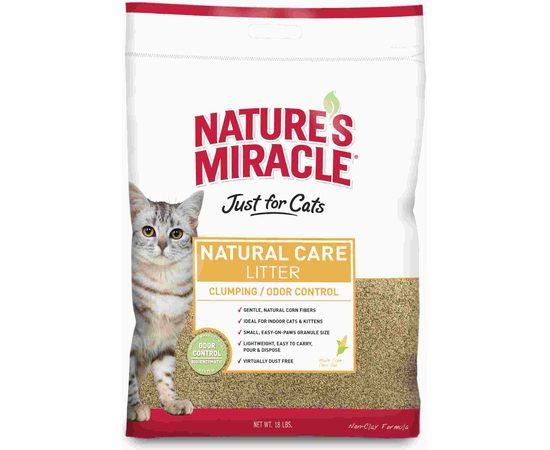 8in1 наполнитель кукурузный NM Natural Care для кошачьего туалета комкующийся 4,5 кг (10 л), фото