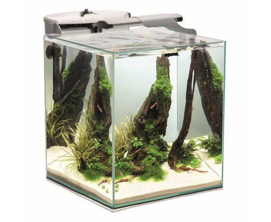 AQUAEL Аквариум Shrimp Set DUO LED 49л белый, - 1 -aquamagaz.ru