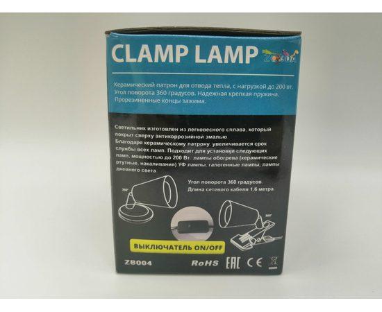 Светильник на прищепке Е27 ZooDA Clamp Lamp 🐦 🔥, Выбор вариации: Без отражателя, фото , изображение 3