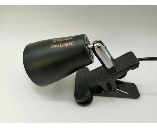 Светильник на прищепке Е27 ZooDA Clamp Lamp 🐦 🔥, Выбор вариации: Без отражателя, фото , изображение 4