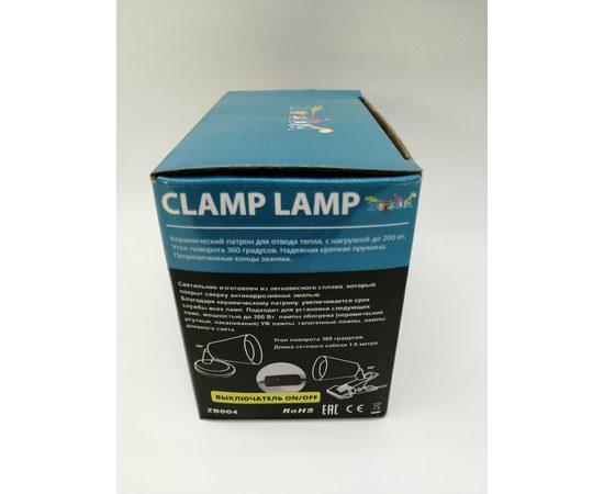 Светильник на прищепке Е27 ZooDA Clamp Lamp 🐦 🔥, Выбор вариации: Без отражателя, фото , изображение 8