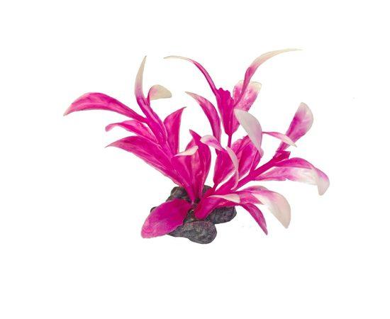 Растение пластиковое мини Tetra DecoArt Plant XS M Pink Refil 6см розовое, фото , изображение 2