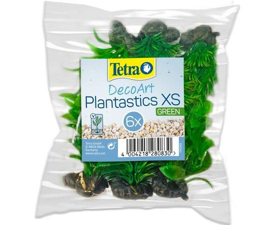 Растение пластиковое мини Tetra DecoArt Plant XS Green Refill 6см зеленое, фото