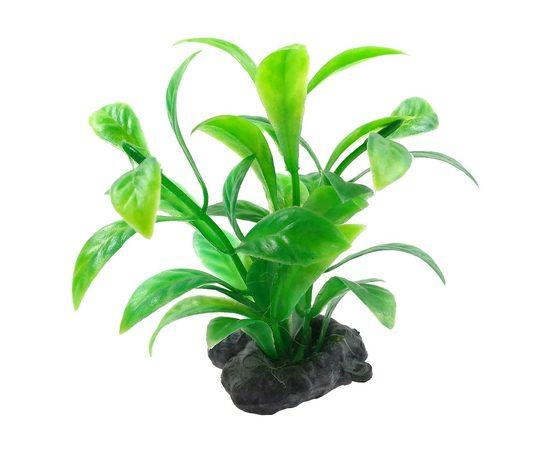 Растение пластиковое мини Tetra DecoArt Plant XS Green Refill 6см зеленое, фото , изображение 3