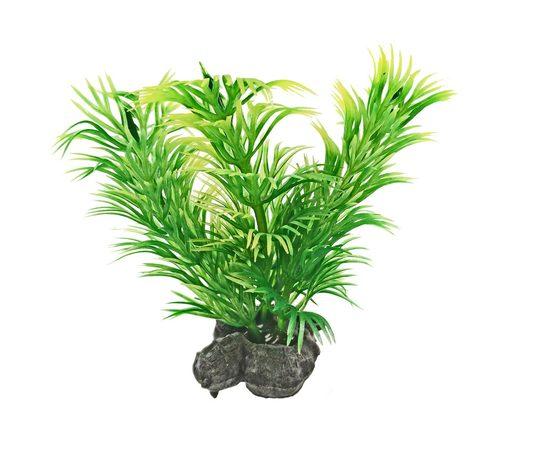 Растение пластиковое мини Tetra DecoArt Plant XS Green Refill 6см зеленое, фото , изображение 2