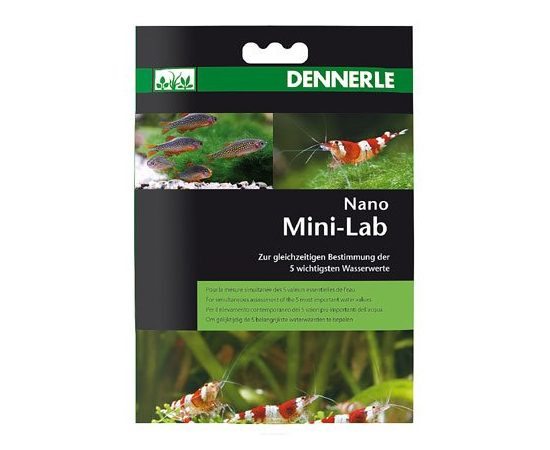 Тесты Dennerle Nano MiniLab, фото