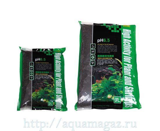Субстрат для водных растений pH 6,5 1-3мм 9л S, - 1 -aquamagaz.ru