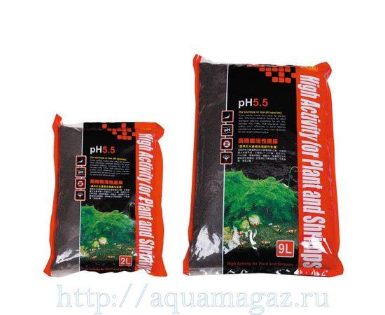 Субстрат для креветок pH 5,5 4-6мм 2л S, - 1 -aquamagaz.ru