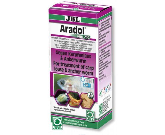 Препарат против червей карпоедов сосальщиков и других ракообразных паразитов JBL Aradol Plus 250 100 мл, - 1 -aquamagaz.ru