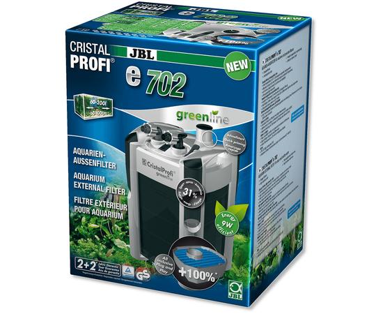 JBL CristalProfi e702 greenline Внешний фильтр для аквариумов 60-200 литров, - 1 -aquamagaz.ru