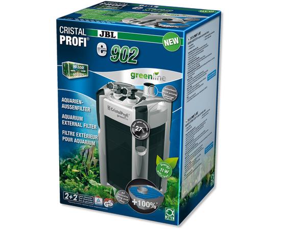 JBL CristalProfi e902 greenline Внешний фильтр для аквариумов 90-300 литров, - 1 -aquamagaz.ru