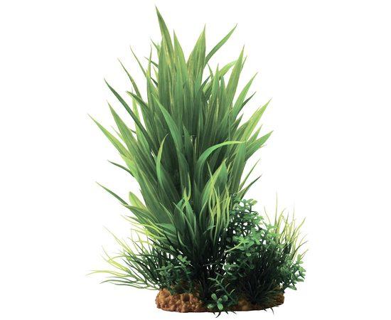 Композиция из пластиковых растений 20см, фото , изображение 2