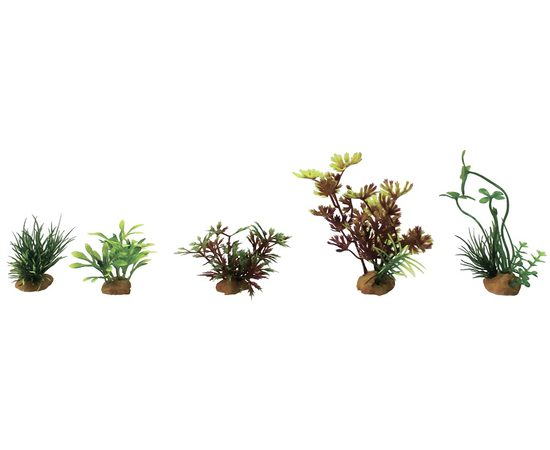 Набор пластиковых растений PRIME 5шт., фото