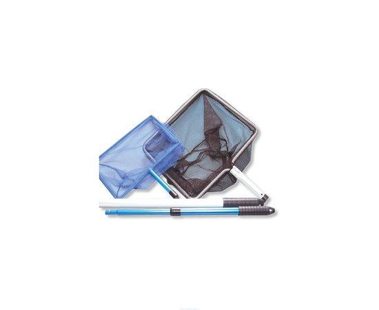 Прудовый сачок с телескопической ручкой JBL Pond fishing net 30,5х20,5 см, фото , изображение 3
