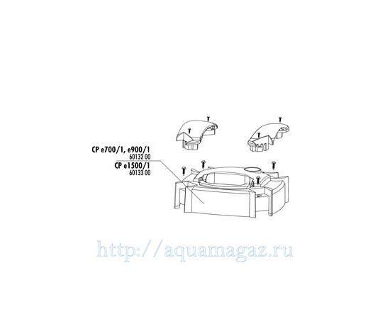 Кожух головы фильтра CristalProfi e JBL pump head cover CPe1500/1, фото , изображение 2