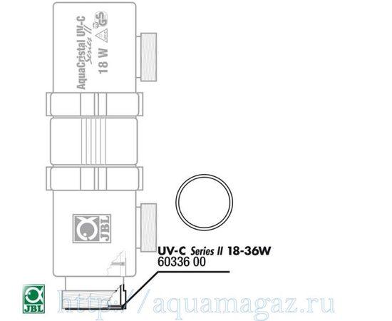 Прокладка кварцевого кожуха для UV-C стерилизаторов JBL О-ring zylind. 18/36W, - 1 -aquamagaz.ru