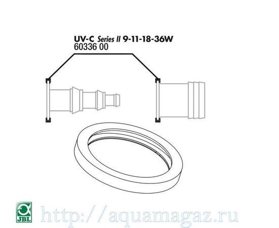 Прокладка кварцевого кожуха для UV-C стерилизаторов JBL O-ring for 9-36W connection, - 3 -aquamagaz.ru