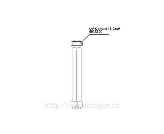 Прокладка ультрафиолетовой лампы для UV-C стерилизаторов 18 и 36 Вт JBL rubber – lamp - 18/36W, - 2 -aquamagaz.ru
