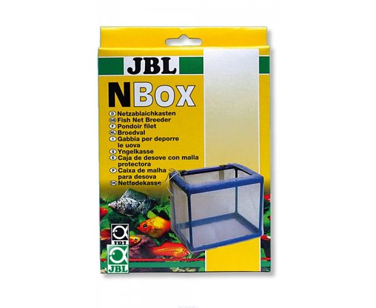 Сетчатый отсадник помещаемый внутрь аквариума объем 2 л JBL N-Box, фото , изображение 2
