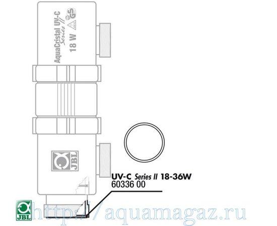 Прокладка кварцевого кожуха для UV-C стерилизаторов JBL О-ring zylind. 18/36W, - 3 -aquamagaz.ru